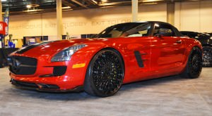 AMG SLS Roadster by IKON Wraps 2