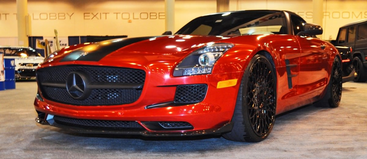 AMG SLS Roadster by IKON Wraps 20