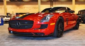 AMG SLS Roadster by IKON Wraps 20