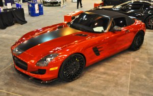 AMG SLS Roadster by IKON Wraps 3