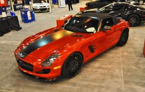 AMG SLS Roadster by IKON Wraps 4