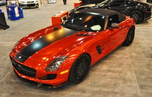 AMG SLS Roadster by IKON Wraps 5
