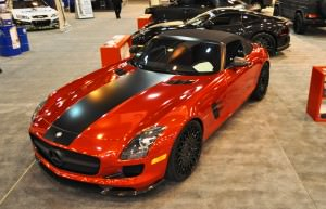 AMG SLS Roadster by IKON Wraps 6