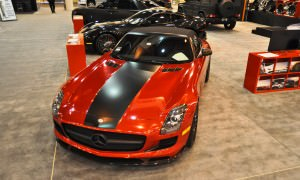 AMG SLS Roadster by IKON Wraps 7