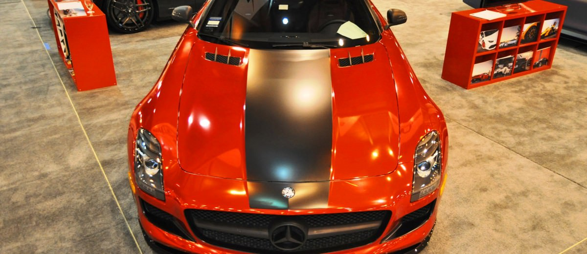 AMG SLS Roadster by IKON Wraps 8