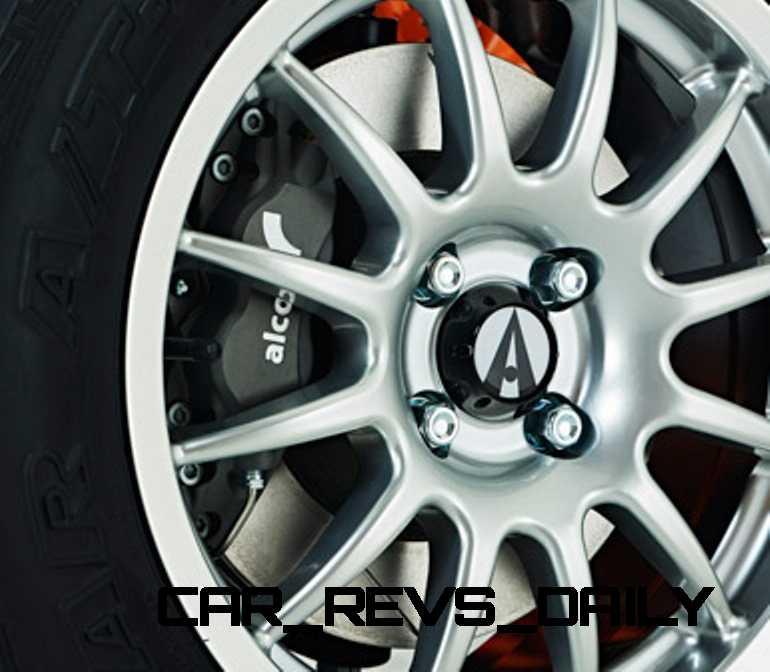 Alcon 4 Pot Caliper 290mm Brake Disc Rear_004