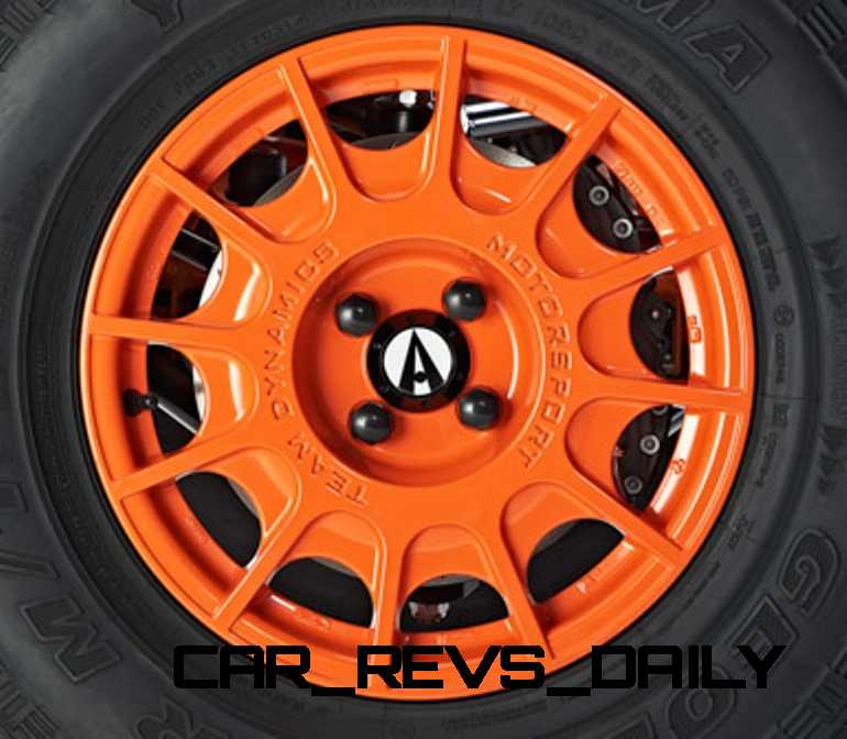 Alternative Colour Powder Coat Wheels