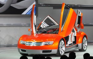 2008 Dodge ZEO Concept World DebutDetroit - January 14, 2008 -