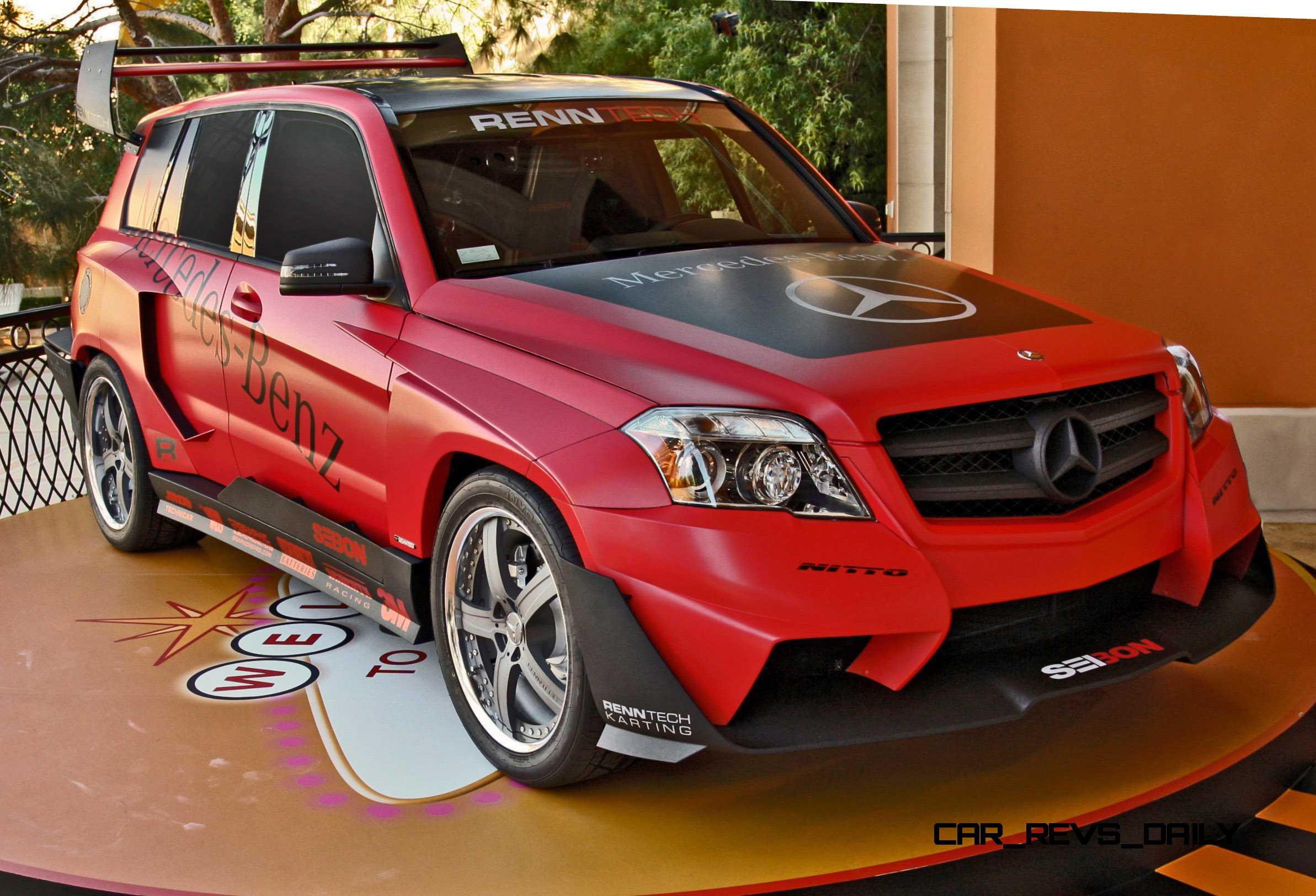 2010 Sema Mercedes