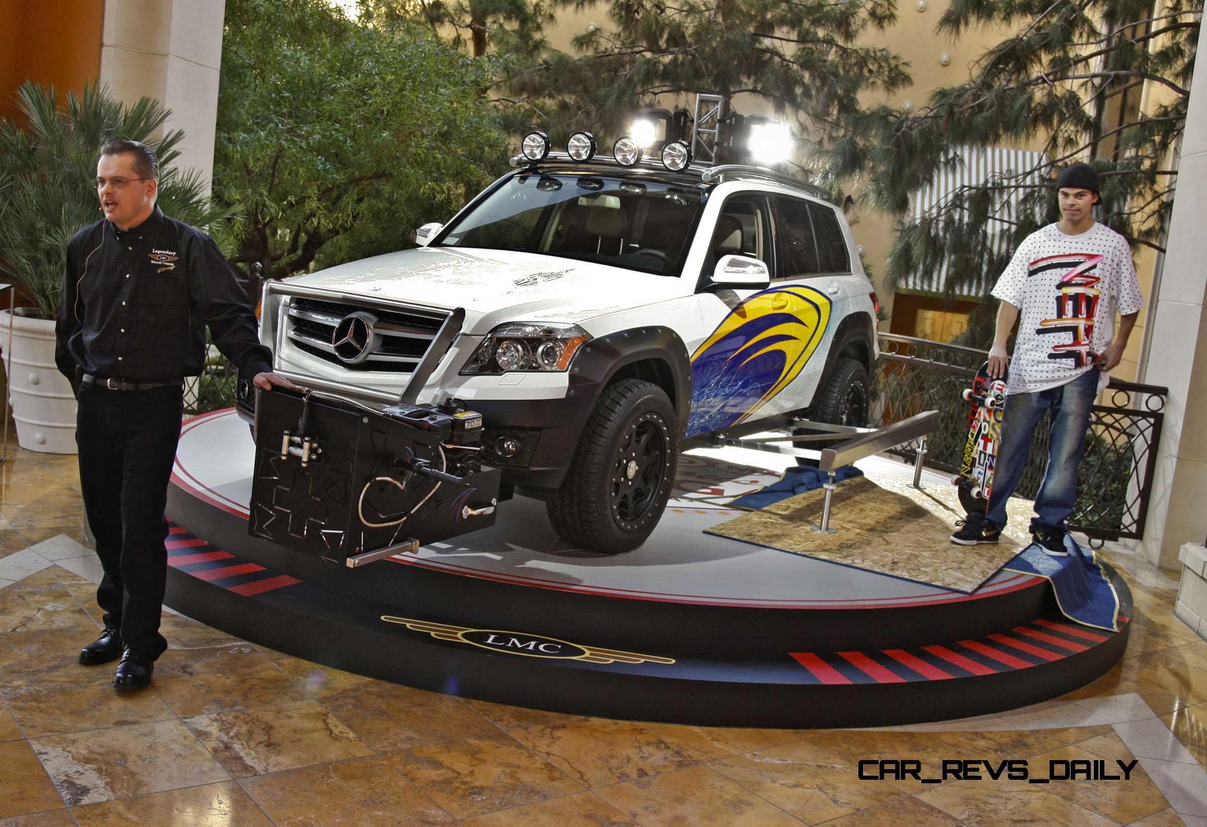 2010 Sema Mercedes Benz Glk Tuner Cars 350 Engine Diagram Glk350 4matic Tuning Concept