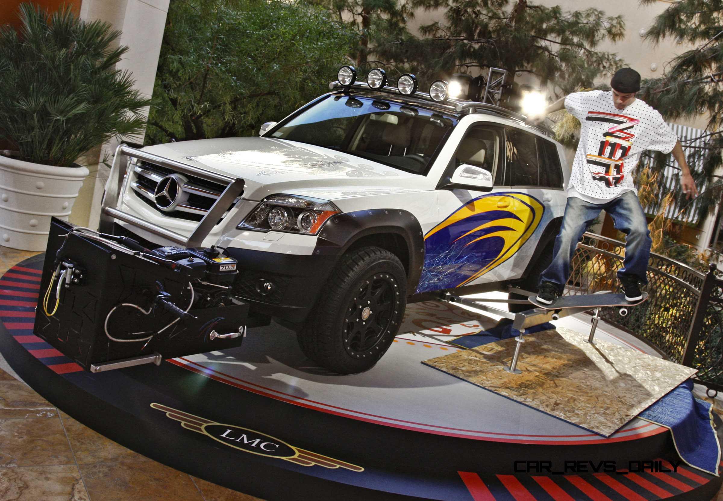 2010 Sema Mercedes Benz Glk Tuner Cars