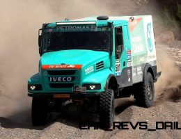 Dakar 2015 – IVECO Making Big Gains With One-Two Finish on Day 11 in T4 Trucks Class