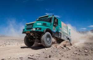 Dakar 2015 - IVECO Powerstar 21