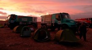 Iveco ambiance during the Dakar 2015 Argentina Bolivia Chile, Tr