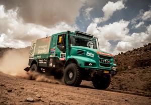 Dakar 2015 - IVECO Powerstar 40
