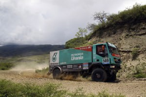 Dakar 2015 - IVECO Powerstar 43