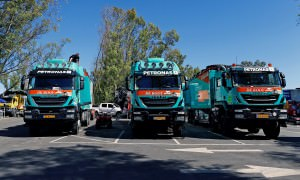 Iveco during the Dakar 2015 Argentina Bolivia Chile, Scrutineeri