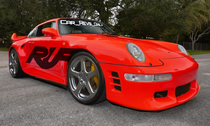 Fantasy Supercar Renderings - RUF Porsche 993 Turbo RS 1