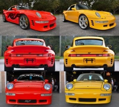 Fantasy Supercar Renderings - RUF Porsche 993 Turbo RS 1-tile