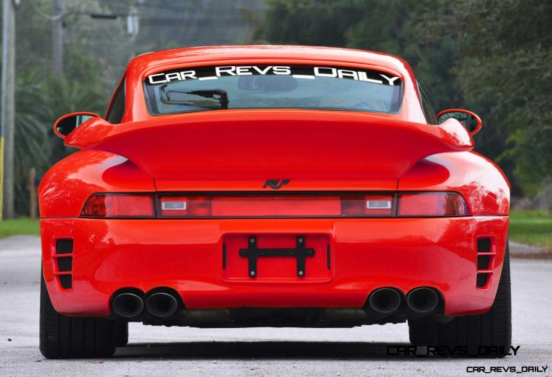 Fantasy Supercar Renderings - RUF Porsche 993 Turbo RS 14