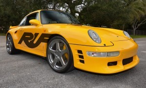 Fantasy Supercar Renderings - RUF Porsche 993 Turbo RS 2
