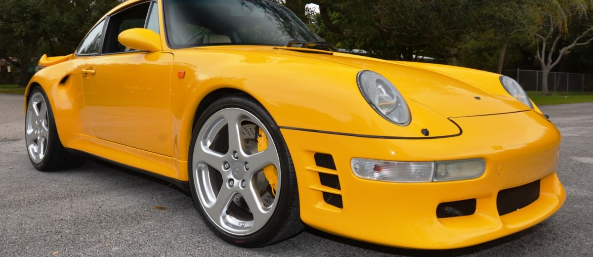 Fantasy Supercar Renderings - RUF Porsche 993 Turbo RS 7