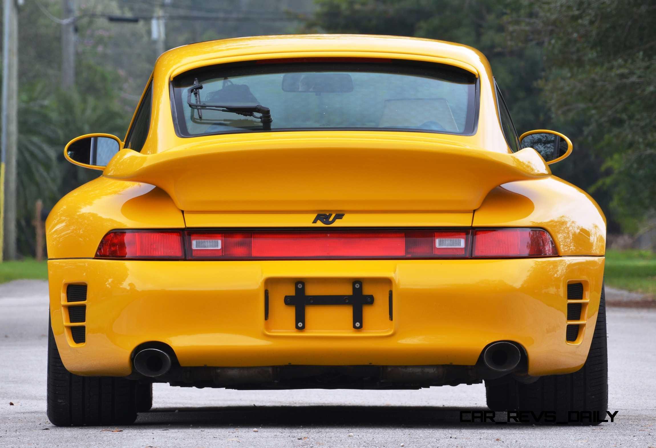 Fantasy Supercar Renderings Ruf Porsche 993 Turbo Rs