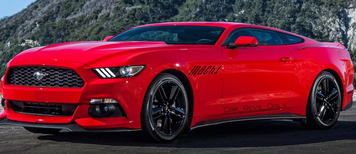 Future Car Renderings - 2017 Ford Mustang Mach 1 1