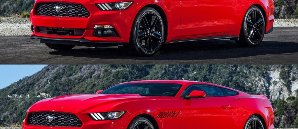 Future Car Renderings - 2017 Ford Mustang Mach 1 3-vert