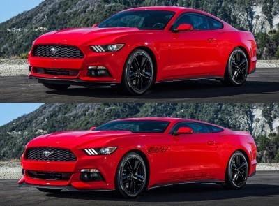 Future Car Renderings - 2017 Ford Mustang Mach 1 3-vert