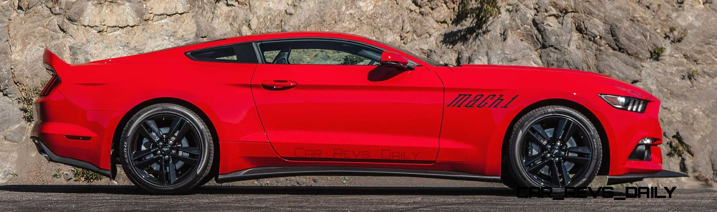 Future Car Renderings 2017 Ford Mustang Mach 1 5