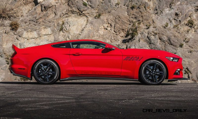 Future Car Renderings - 2017 Ford Mustang Mach 1 6