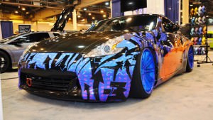 Hand-Airbrushed Nissan 370Z LowRider 6