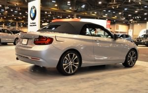 Houston Auto Show - 2015 BMW 228i xDrive Convertible in Luxury Trim 10