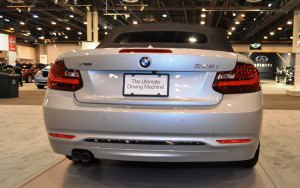 Houston Auto Show - 2015 BMW 228i xDrive Convertible in Luxury Trim 11