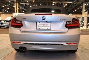 Houston Auto Show - 2015 BMW 228i xDrive Convertible in Luxury Trim 12
