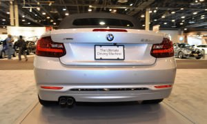 Houston Auto Show - 2015 BMW 228i xDrive Convertible in Luxury Trim 13