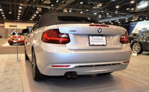 Houston Auto Show - 2015 BMW 228i xDrive Convertible in Luxury Trim 14