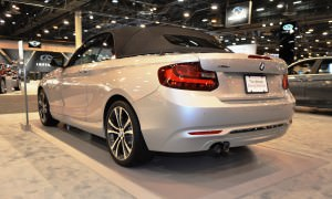 Houston Auto Show - 2015 BMW 228i xDrive Convertible in Luxury Trim 15