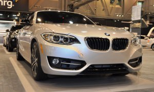 Houston Auto Show - 2015 BMW 228i xDrive Convertible in Luxury Trim 2