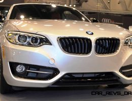 Houston Auto Show – 2015 BMW 228i xDrive Convertible in Luxury Trim