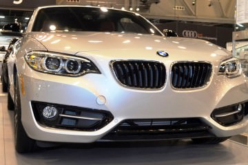 Houston Auto Show - 2015 BMW 228i xDrive Convertible in Luxury Trim
