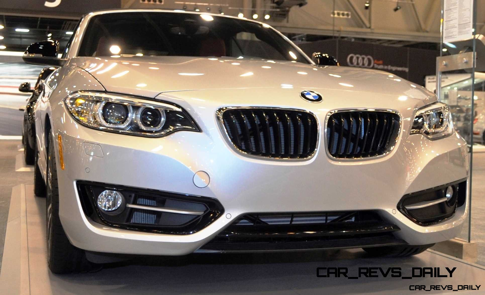 Houston Auto Show – 2015 BMW 228i xDrive Convertible in Luxury Trim