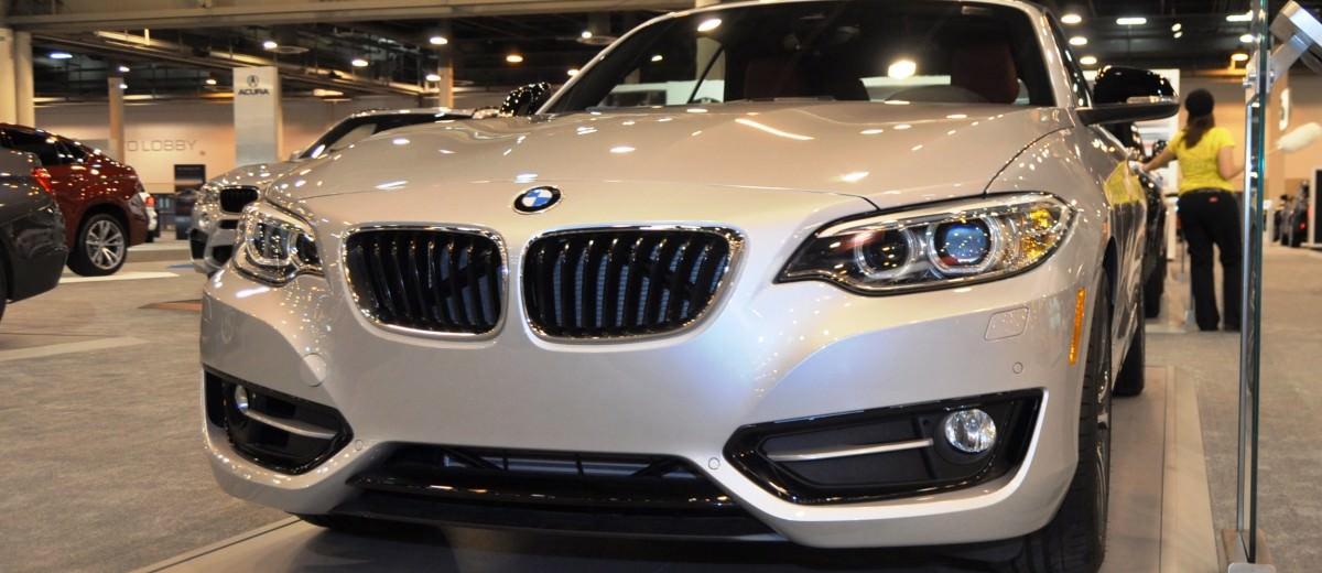 Houston Auto Show - 2015 BMW 228i xDrive Convertible in Luxury Trim 7