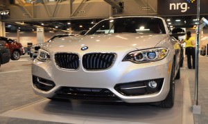 Houston Auto Show - 2015 BMW 228i xDrive Convertible in Luxury Trim 7
