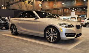 Houston Auto Show - 2015 BMW 228i xDrive Convertible in Luxury Trim 8