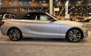 Houston Auto Show - 2015 BMW 228i xDrive Convertible in Luxury Trim 9