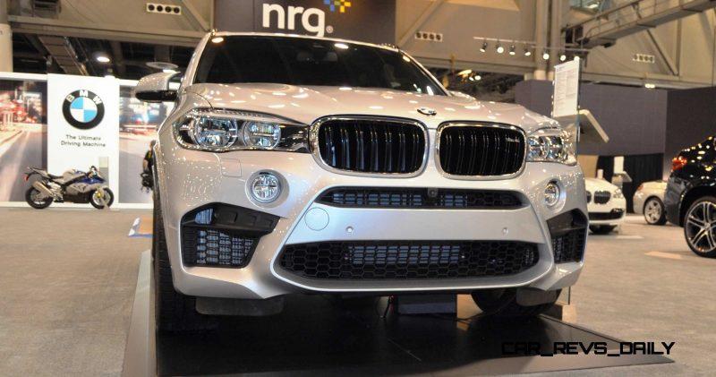 Houston Auto Show - 2015 BMW X5 M 14