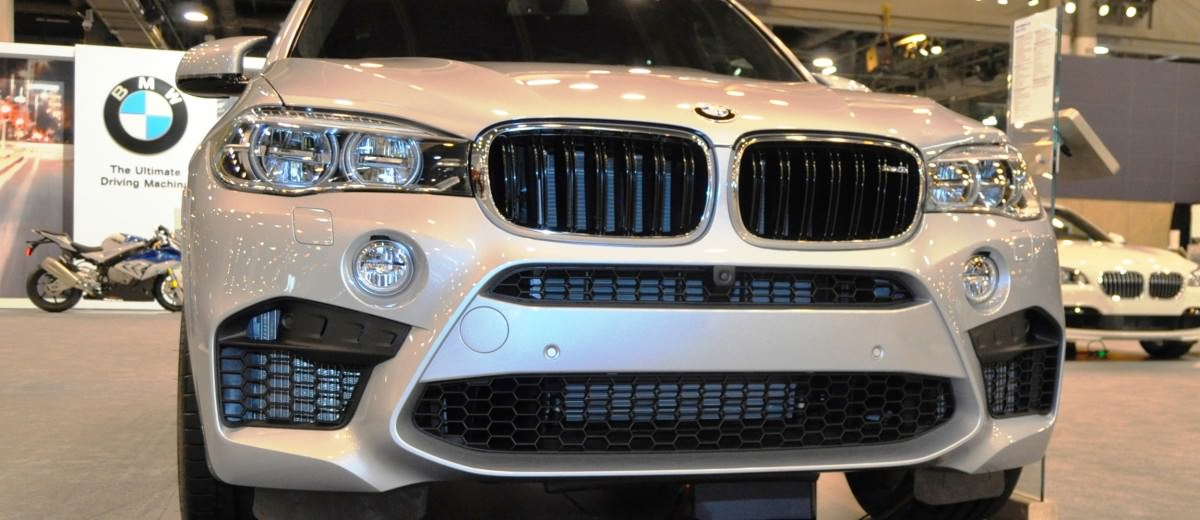 Houston Auto Show - 2015 BMW X5 M 15