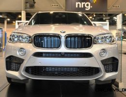 Houston Auto Show – 2015 BMW X5 M Looks Mean, But Logos Nearly Invisible